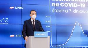 Morawiecki: jestem za zniesieniem ochrony patentowej na szczepionki przeciw COVID-19