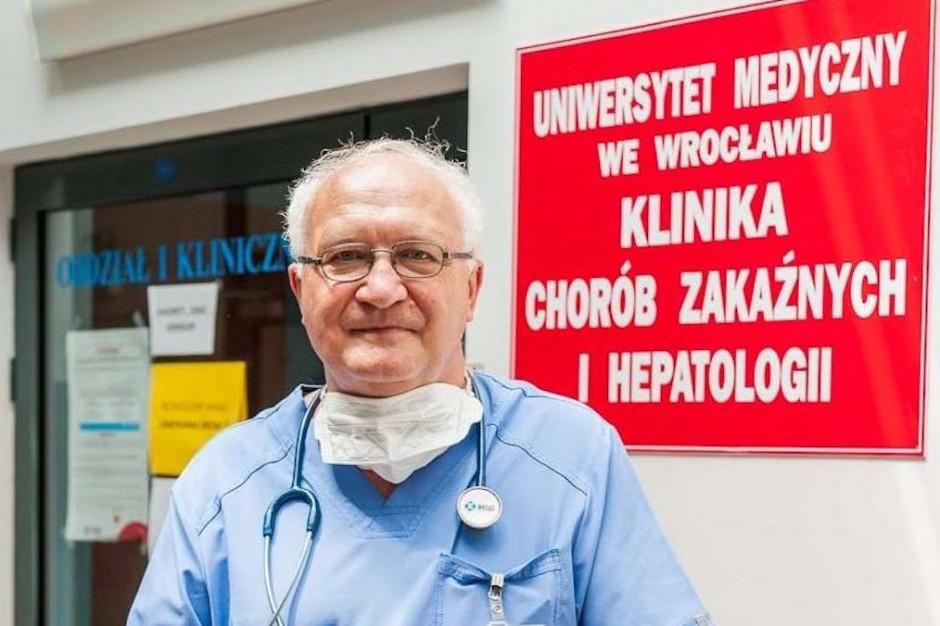 """Prof. Simon nagrodzony medalem Karskiego. Przypomniano jego słowa o """"epidemicznym Holokauście"""""""