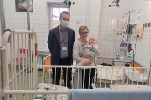Chirudzy w Zielonej Górze zoperowali noworodka z ciężką postacią choroby Hirschsprunga
