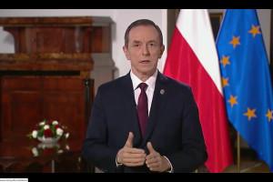 Marszałek Senatu o projekcie opodatkowania mediów m.in. na NFZ