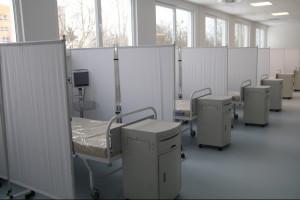Szpital modułowy w Legnicy oficjalnie otwarty. Może przyjąć 96 chorych na Covid-19
