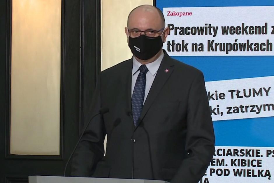 Główny Inspektor Sanitarny: apeluję o rozsądek, wygaszanie pandemii jest długotrwałe i kosztowne