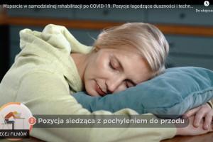 Na stronie KIF aktorzy promują samodzielną rehabilitację pacjentów po COVID-19