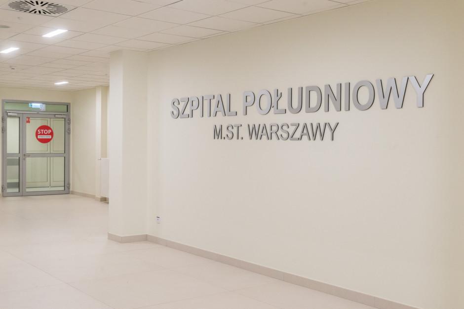 Szpital Południowy odciąży stołeczne placówki. Uwolnią się miejsca covidowe