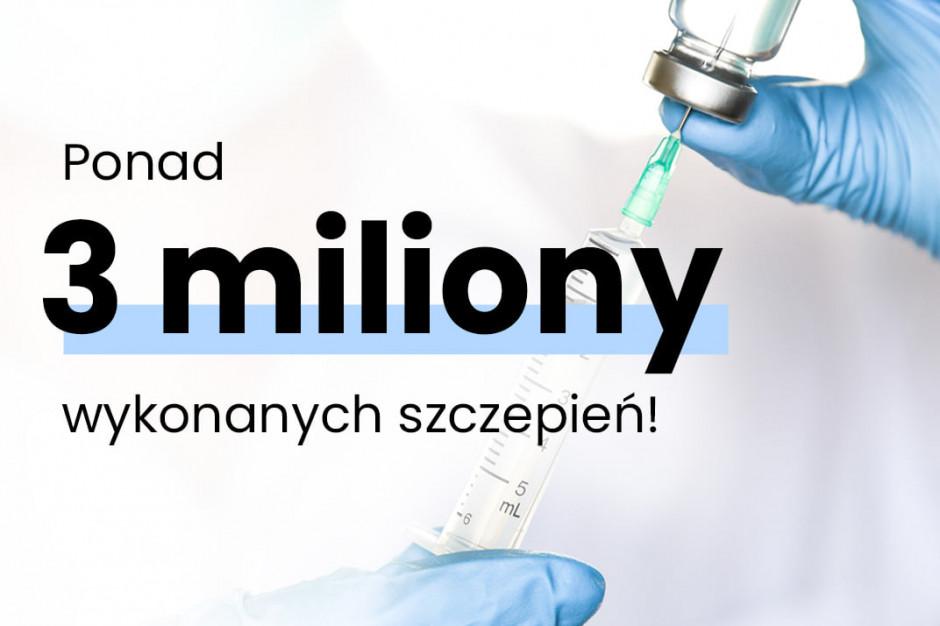Mateusz Morawiecki: wykonano już ponad 3 mln szczepień przeciw COVID-19