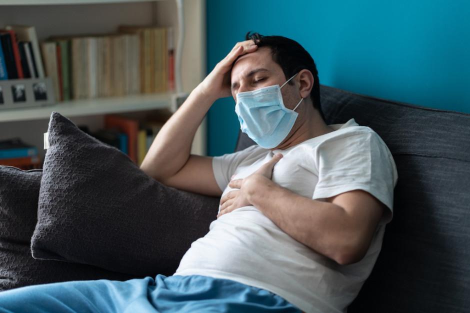 MZ:  nieznaczne spadki zachorowań, więcej zajętych respiratorów i dużo zgonów