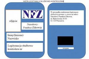 NFZ: nowy wzór legitymacji kontrolerów Funduszu. Sprawdź, kiedy Cię odwiedzą