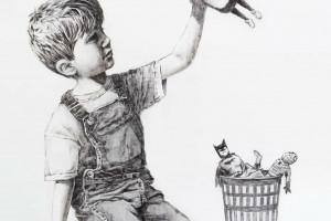 Obraz Banksy'ego - hołd dla służby zdrowia - sprzedany za rekordową cenę