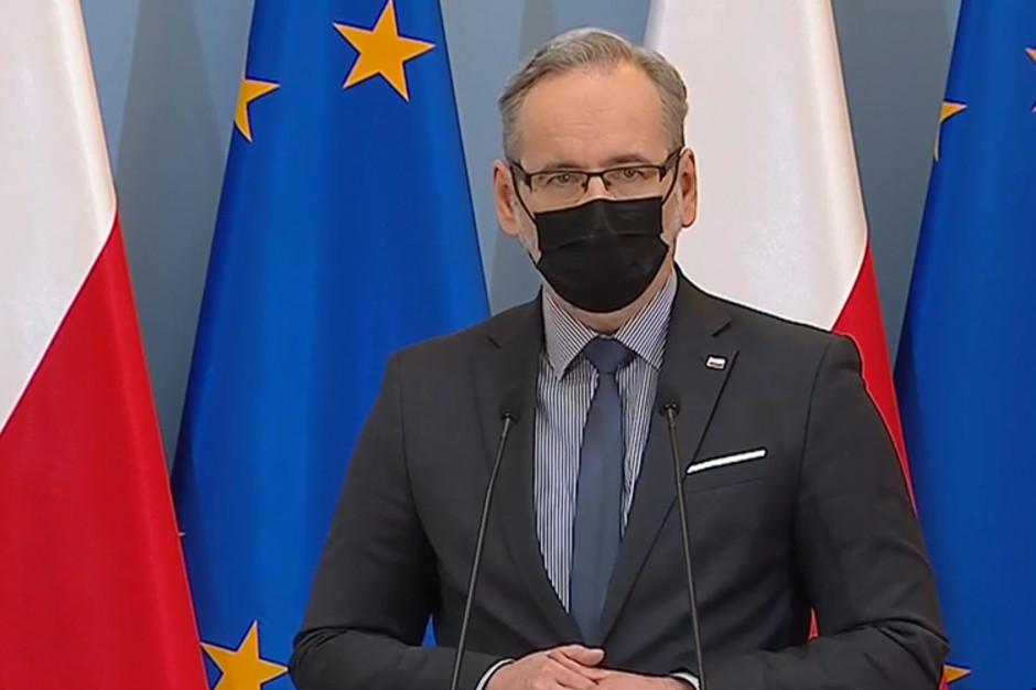 Minister Niedzielski policzył: wskaźnik R spadł w kraju do 0,86