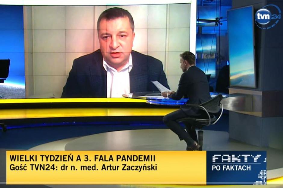 Zaczyński: w szpitalu na Narodowym są jeszcze wolne miejsca