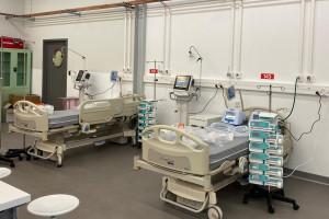 Szpital tymczasowy w Pyrzowicach szuka kadry. Zgłoszenia przez nową stronę internetową placówki