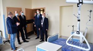 Szpital tymczasowy w Radomiu na razie nie dla ciężej chorych na Covid-19?