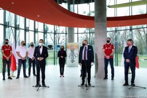 Członkowie kadry narodowej w sportach olimpijskich będą szczepieni przeciwko Covid-19