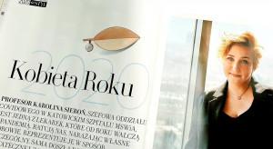Prof. Karolina Sieroń, szefowa oddziału covidowego Kobietą Roku 2020
