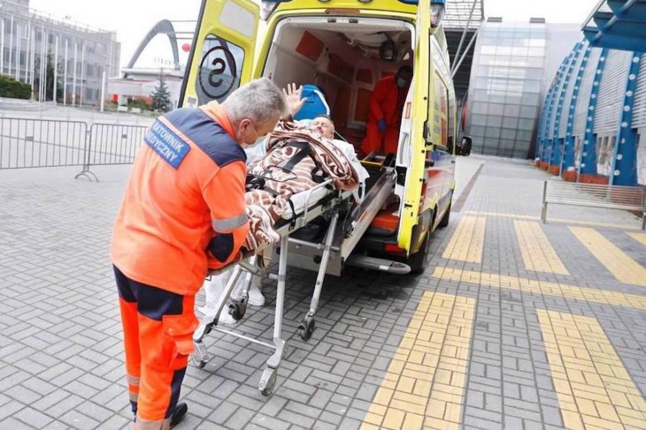 Kielce: pocovidowy pacjent został wypisany do domu wraz z respiratorem