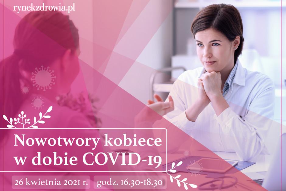 """Zapraszamy na debatę online: """"Nowotwory kobiece w dobie COVID-19"""""""