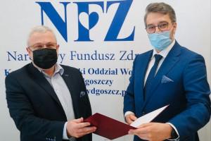 Od ratownika medycznego do szefa oddziału NFZ w Bydgoszczy