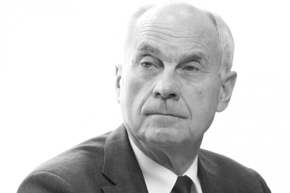 Zmarł Aleksander Sopliński - lekarz, wiceminister zdrowia w latach 2012-2015