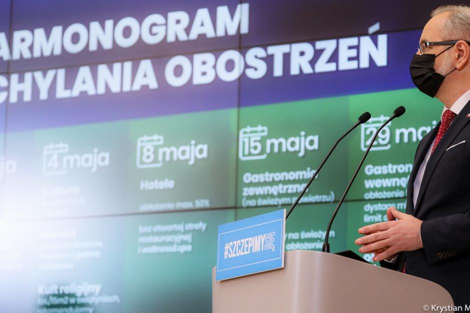 Minister Adam Niedzielski: luzowanie obostrzeń bez regionalizacji!