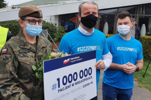 W Poznaniu limit dzienny szczepień przeciw Covid-19 wyczerpał się około godz. 12