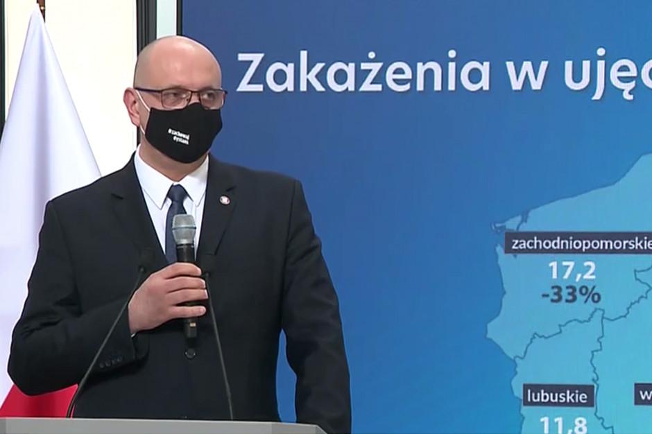 Saczka: ukrycie jednej osoby zakażonej, może spowodować zgon na drugim końcu Polski