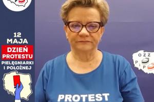 Szefowa związku pielęgniarek: 12 maja protest rozpoczniemy na ul. Wiejskiej, pod Sejmem