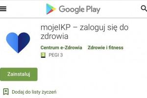 Aplikacja mojeIKP teraz również na Androida - informuje minister zdrowia