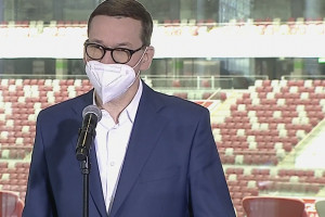 Premier Morawiecki o walce z COVID-19: pozbądźmy się raz na zawsze tej choroby!