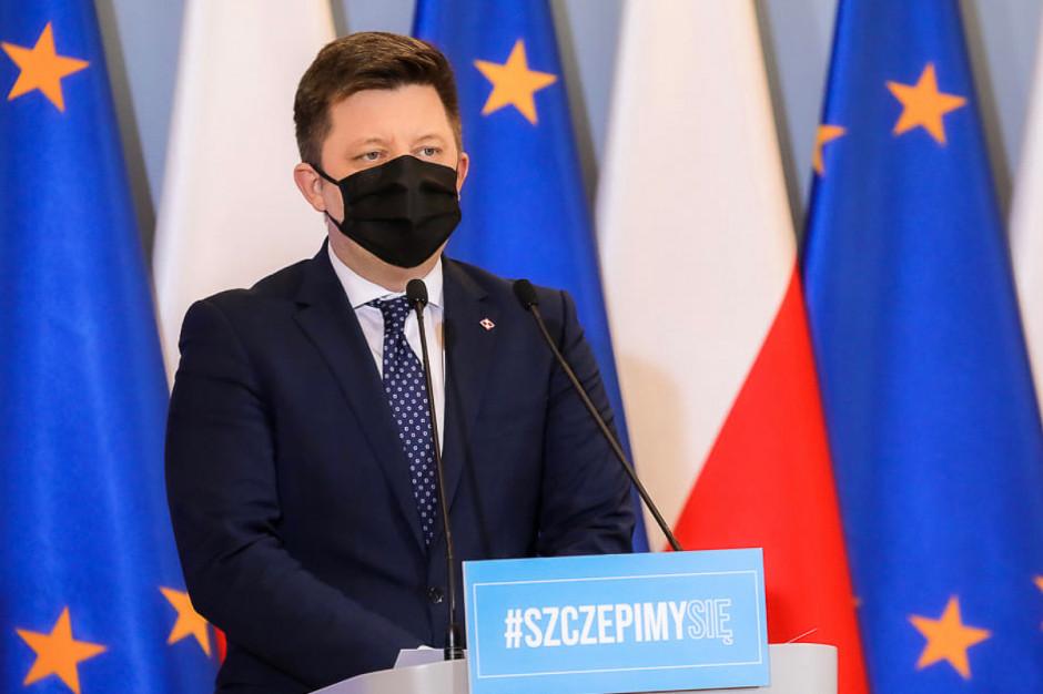 Rząd zachęca Polaków do szczepień, m.in. loterią Narodowego Programu Szczepień