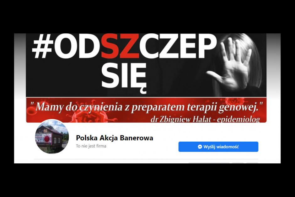 """Coraz więcej banerów """"Odszczep się"""" w polskich miastach. Co na to rząd i MZ?"""