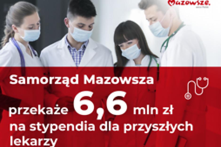 Mazowsze funduje stypendia dla przyszłych lekarzy. Nawet po 2000 zł miesięcznie
