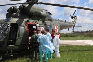 Opole: z mobilnym ECMO Sokołem polecieli po pacjenta