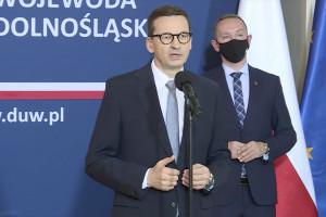 Morawiecki: znakowana pula środków zdecydowanie poprawi służbę zdrowia