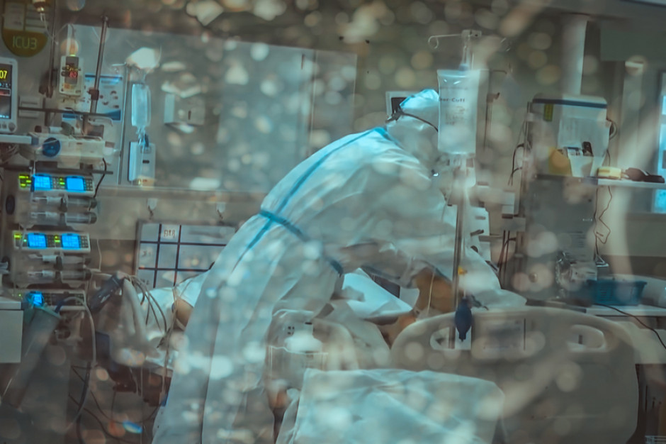 Szpital tymczasowy w Kielcach zawiesza działalność