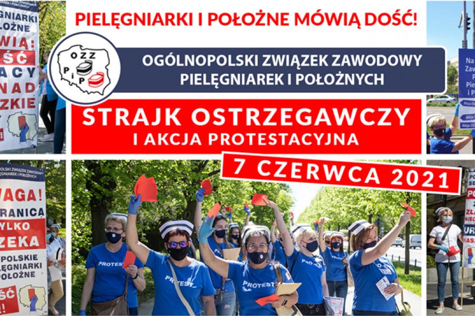 Dzisiaj strajk pielęgniarek i położnych - udział zapowiada ok. 40 szpitali