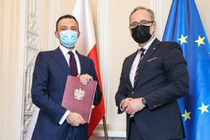 Minister zdrowia powołał Radosława Sierpińskiego na prezesa ABM