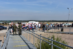 Pustynia była miejscem, gdzie zaszczepiło się najwięcej osób w tej akcji weekendowej