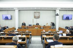 Senat za projektem ustawy o chorobach zawodowych wywołanych przez COVID-19 u medyków