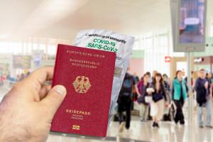 Unijny Certyfikat COVID za granicą. W Niemczech ma go już 32 mln obywateli. We Włoszech 13,7 mln