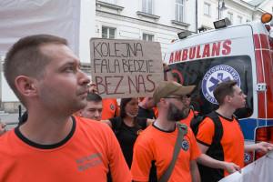 """Ratownicy o propozycjach Ministerstwa Zdrowia: nie ma porozumienia z NFZ. """"Nie poddajemy się"""""""