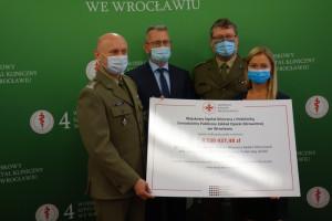 Wrocławski szpital dostał ponad 8,5 miliona zł na badania kliniczne