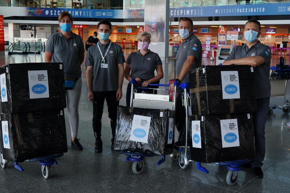 Polscy medycy lecą do Ugandy. Będą wspierać szpitale w walce z COVID-19