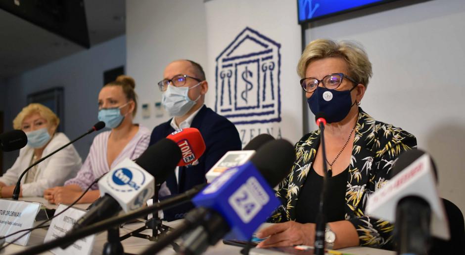 """Strajk medyków. Krystyna Ptok w rozmowie z Rynkiem Zdrowia o powodach: """"Jesteśmy lekceważeni"""""""