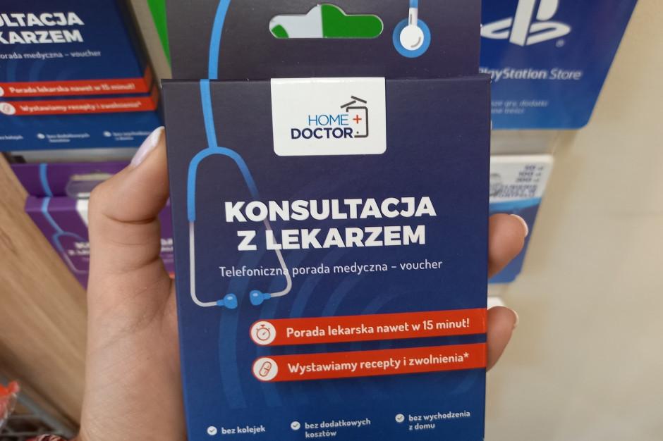 Żabka wchodzi w rynek teleporad lekarskich. W sklepach vouchery na telewizytę kosztują 55 i 75 zł