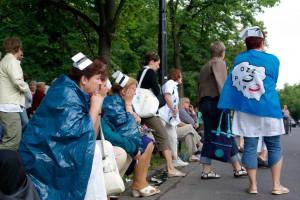 Protest medyków. Szef Porozumienia Rezydentów: rządzący oszukują pacjentów i  pracowników ochrony zdrowia