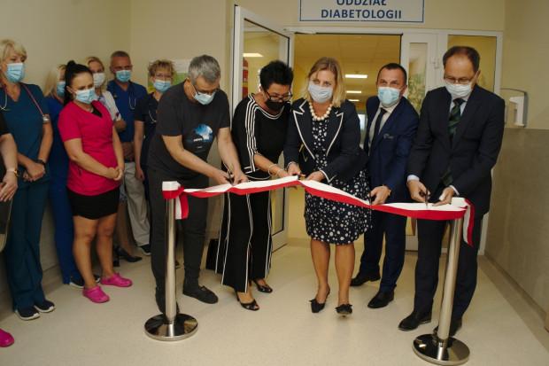 W Zagłębiowskim Centrum Onkologii w Dąbrowie Górniczej otwarto 6 września oddział diabetologii Mat. prasowe
