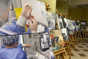 Beata Małecka-Libera: niech ta wystawa będzie ostrzeżeniem przed czwartą falą pandemii