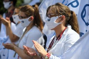Protest 11 września TRASA Lekarze, pielęgniarki i ratownicy przejdą przez stolicę
