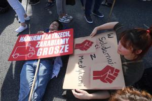 """Opiekunowie też protestują: """"Nasz zawód powstał 14 lat temu i nie doczekał się miejsca w systemie"""""""