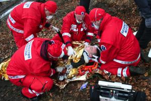 Ratownik medyczny: w Polsce wypadki śmiertelne miałem co tydzień, w Norwegii ze trzy w roku